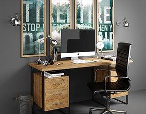 3D Workplace set 1