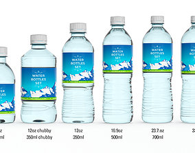 Water Bottle Ultimate Pack 3D model