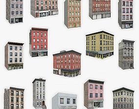 15 Apartment Building Collection 5 3D asset