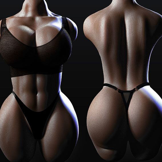 torso woman 2