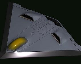 3D model Low Observable UAV Testbed