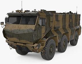 3D KamAZ-63968 Typhoon