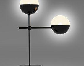 3D model Globe Table Lamp