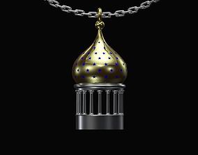 3D printable model Onion dome pendant