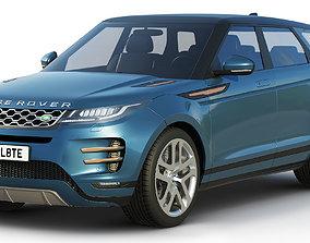 3D model Land Rover Range Rover Evoque r-dynamic