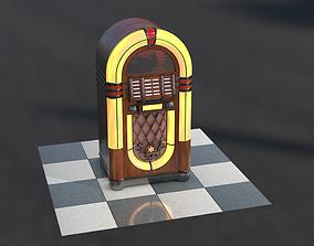3D model Vintange Jukebox