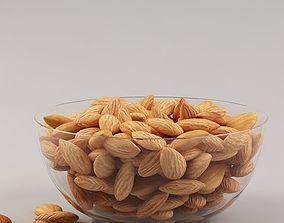 eat 3D model Almonds