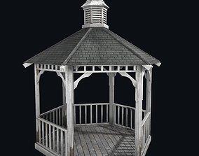 3D model Old gazebo