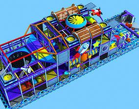 3D interior kids playground