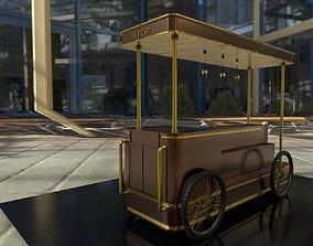 Food Cart 3D asset