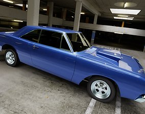 car Dodge Dart 1968 Muscle Car 3D