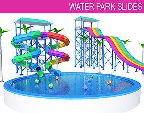 3D Water Slides
