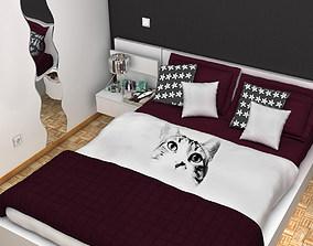 Bedroom 3D clock