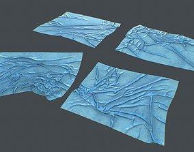 Plastic tarp 3D model