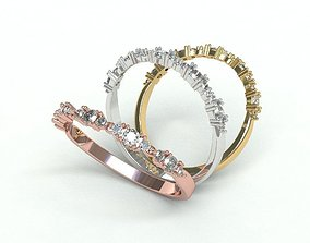 Ringmodel102 -Wedding ring