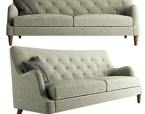 West Elm Livingston Sofa 3D