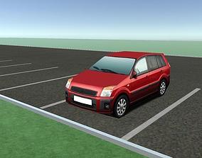 3D asset Background Car - Free