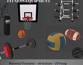 3D model Fitness equipment