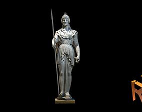 Athena Statue 3D model