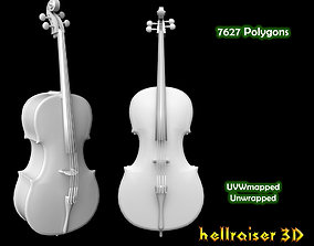 3D model Cello Violin
