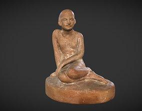 Clay Gandhi 3D asset
