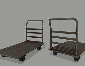 Trolley 3D asset game-ready