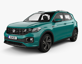 Volkswagen T-Cross R-Line 2019 3D model