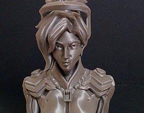 3D print model Overwatch - Mercy Bust