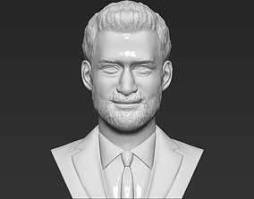 Prince Harry bust 3D printing ready stl obj formats