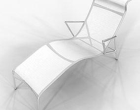 Chaise Longframe Alberto Meda 3D model