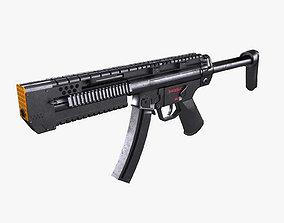 3D model Sub Machine Gun
