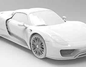3D printable model CAR - Porsche918