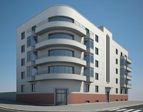 home Apartment Building 04 3D