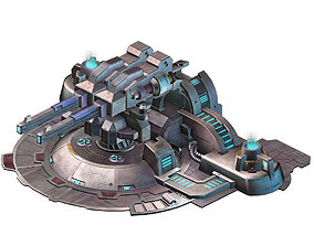 Mechanical Building - Fleet Turret 02 3D model