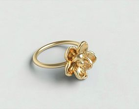 Magnolia ring1 3D printable model