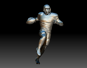 3D print model miniatures American footballer Pose