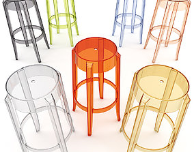 3D Charles Ghost Stool 4899