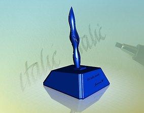 3D model Italics Winner Trophy 1