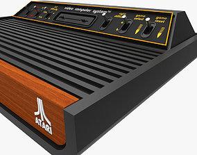 3D asset Atari 2600