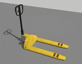 3D model Industrial Pallet Truck Trolley 2