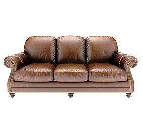 3D model Vintage Club Leather Club Sof