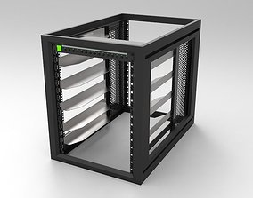 3D 15RU Systems Rack