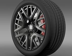 3D Bentley Continental GT Speed wheel