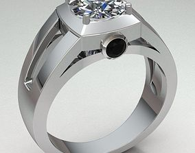 emerald-ring Ring Man 3D printable model