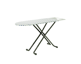 iron and ironing board 3D model