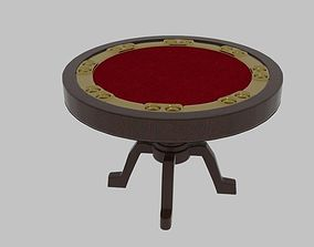 Round Poker Table 2 3D model