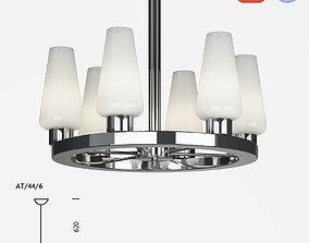 3D Chelsom Atrium AT 44 6 ceiling lamp