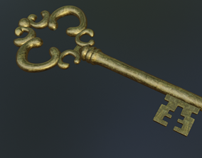 3D medieval key security