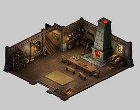 Game Indoor - Universal House 01 3D