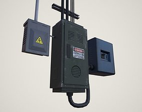 Electrical Boxes 3D asset